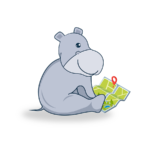 Hippo Mat™ Hippo Reading a Map | Playing with an Educational Toy Improves Cognitive Development!