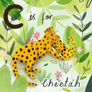 chloe-fae-evans-animal-alphabet-cheetah