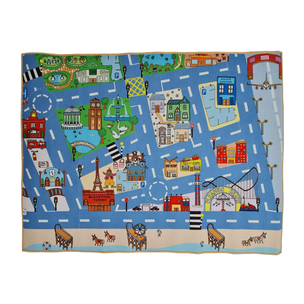 Blackpool Hippo Mat Front