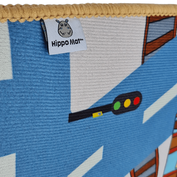 Blackpool Hippo Mat Label