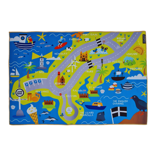 Cornwall Hippo Mat Front