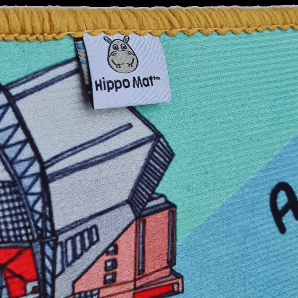 Liverpool Hippo Mat Label