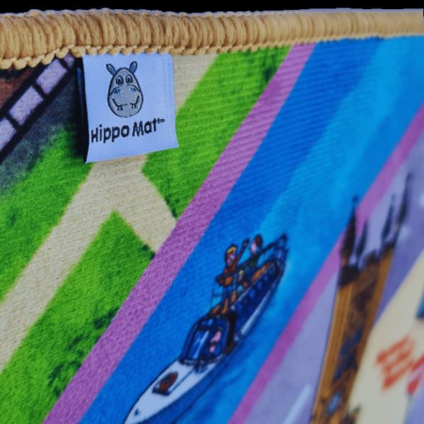 Manchester Hippo Mat Label