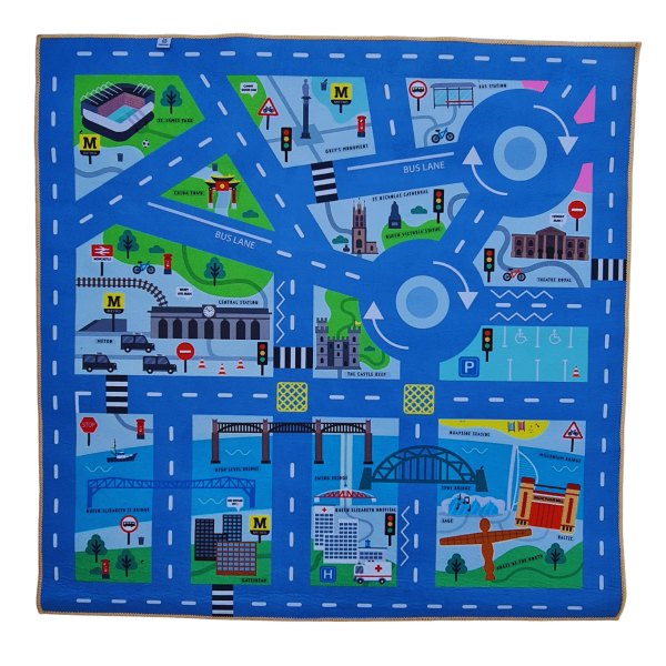 Newcastle Hippo Mat Front